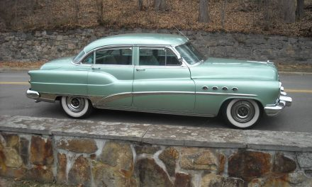 Ridge Green: 1953 Buick Roadmaster Sedan 72R – Sold!