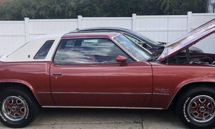 Striped Velour:  1977 Oldsmobile Cutlass Supreme – $8,000