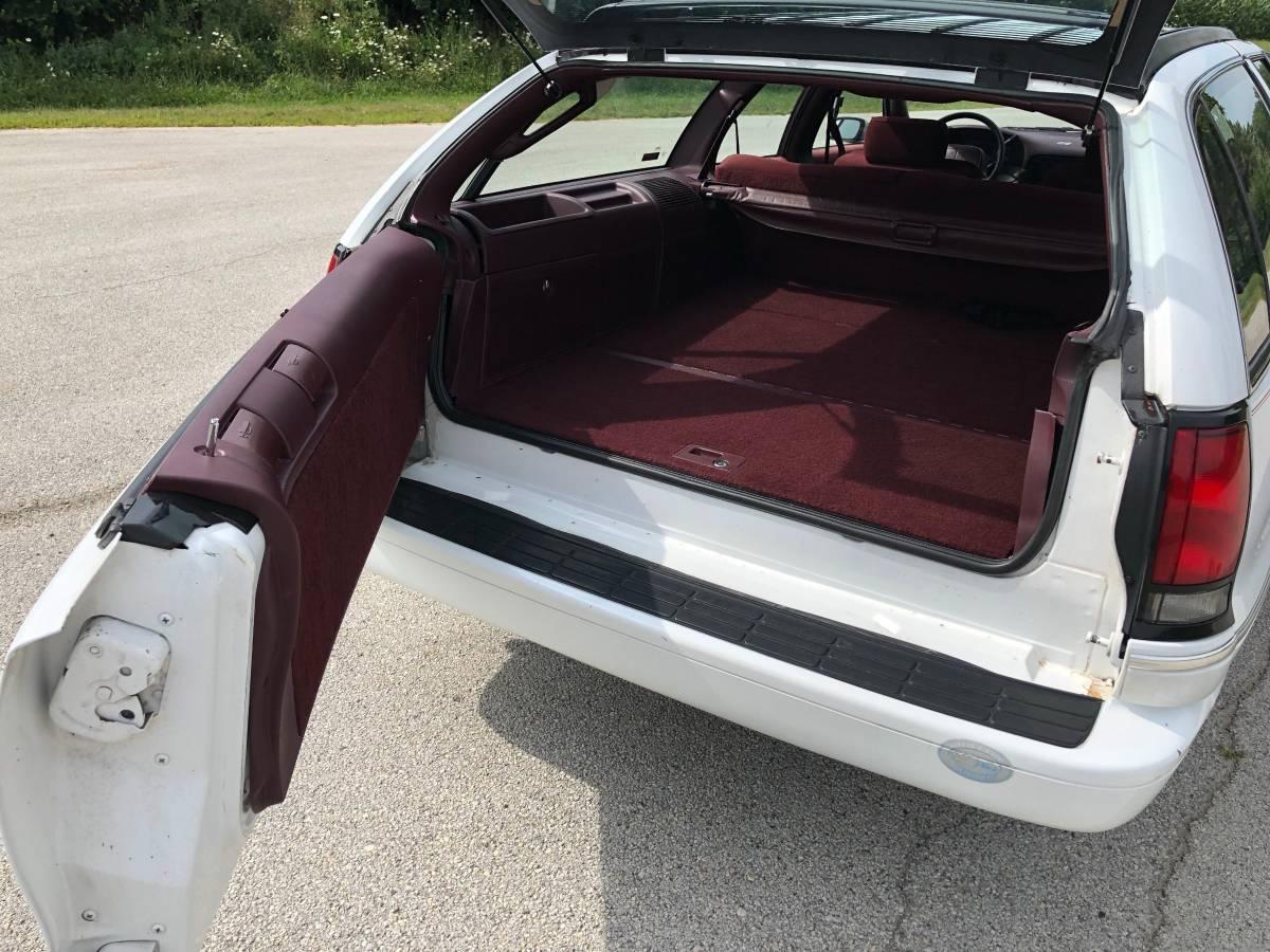 White Whale  1994 Chevrolet Caprice 45k Mile Station Wagon