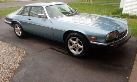 Small Block Swap:  1982 Jaguar XJS-HE Series II V12 Coupe – $9,500