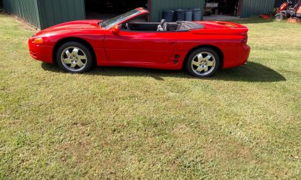 One of 1,034:  1995 Mitsubishi 3000GT Spyder – Sold!