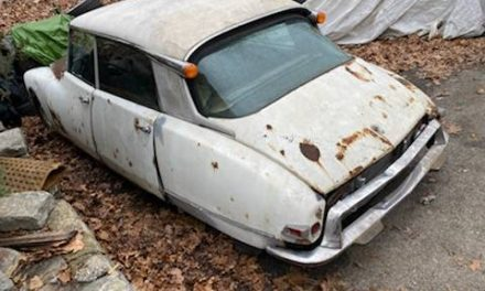 Rusty White: 1971 Citroen DS21 Project – Sold!