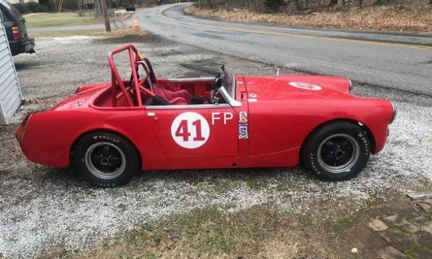 One Year Gone:  1967 MG Midget Race Car – STILL $12,500