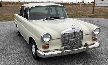 Fintail:  1967 Mercedes-Benz W110 230 Sedan – Sold!