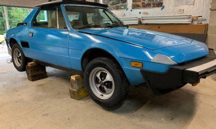 Minute Mid-Engine:  1979 Fiat X1/9 – $6,500