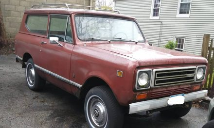 Bare Bones:  1979 International Harvester Scout II One Owner – Sold!