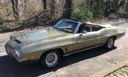 Blind Love: 1972 Pontiac LeMans Sport Convertible – Sold!