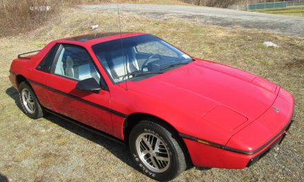 Don't Be Fooled 2:  1985 Pontiac Fiero 2M4 20K Survivor – Sold!