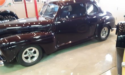 Space 14:  1947 Ford Coupe Street Rod – $38,500 OBRO