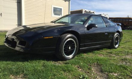 Final Year Model: 1988 Pontiac Fiero GT – $12,500