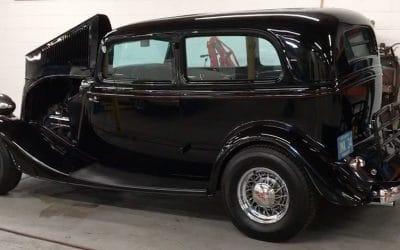 Space 16: 1934 Ford Tudor Sedan Hot Rod – $30,000