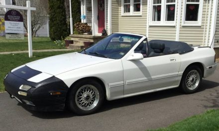 Wankel Powered Drop Top: 1989 Mazda RX-7 Convertible – Sold!