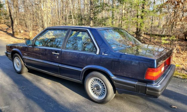 Blessed by Bertone: 1989 Volvo 780 Turbo – Sold!