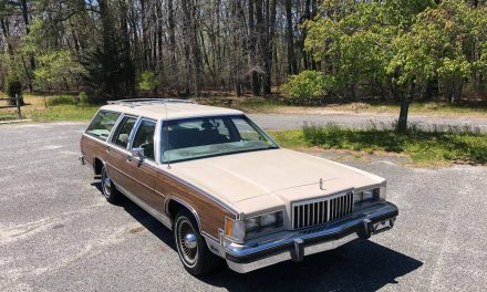 Perfect Paneling:  1986 Mercury Colony Park Station Wagon – SOLD!