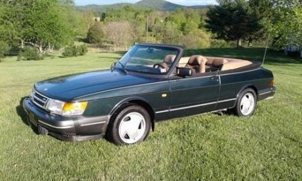 Estate Sale Survivor: 1994 Saab 900 Turbo Convertible – SOLD!