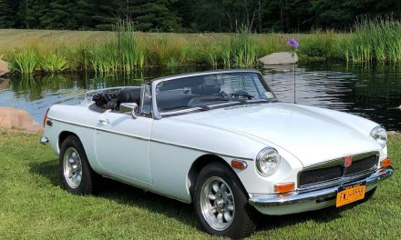 Back Dated:  1976 MG MGB Mk IV – SOLD!