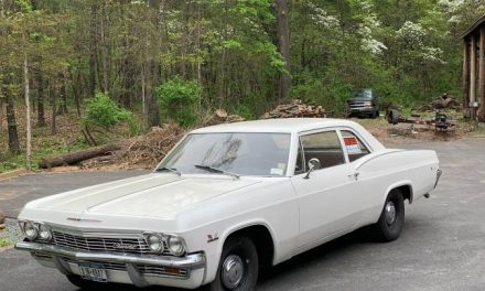 Sleeping Biscayne:  1965 Chevrolet Biscayne 396/4-Speed – Sold!