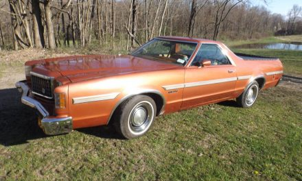Last Year Ute:  1979 Ford Ranchero – Sold!