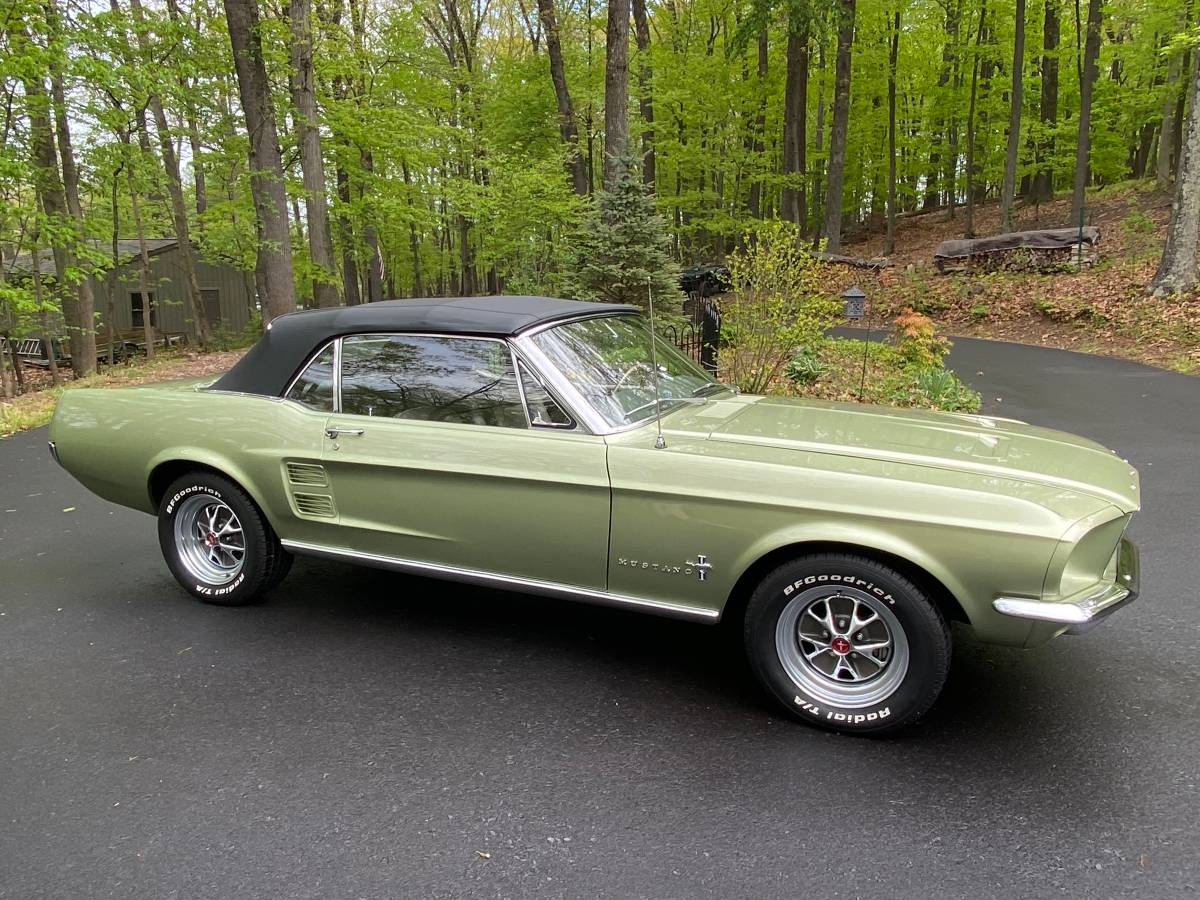 1967 Ford Mustang Convertible For Sale Guyswithrides Com