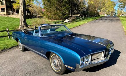 Poster Child: 1970 Oldsmobile Cutlass Supreme Convertible – SOLD!