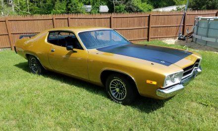 NEW! Award 41:  1974 Plymouth Satellite Sebring Street Machine – $32,000