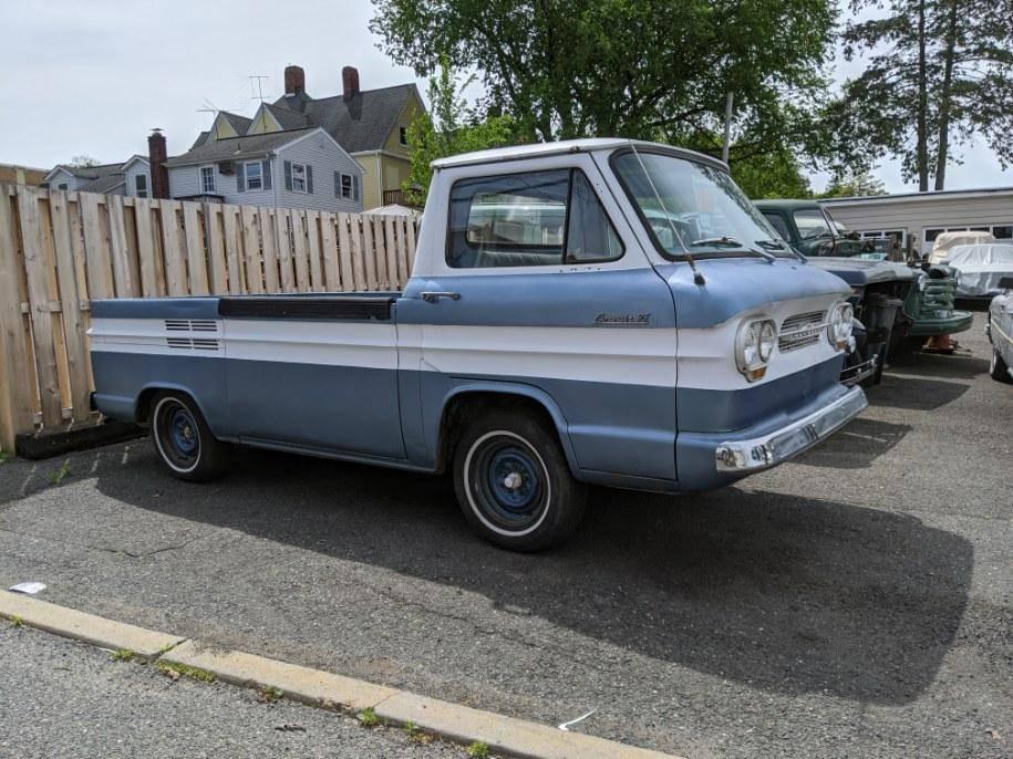 Pretty Darn Good: 1961 Chevrolet Corvair Rampside Pickup ...