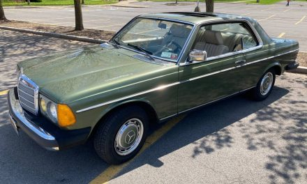 Pillar-less Perfection:  1978 Mercedes-Benz C123 280CE – SOLD!