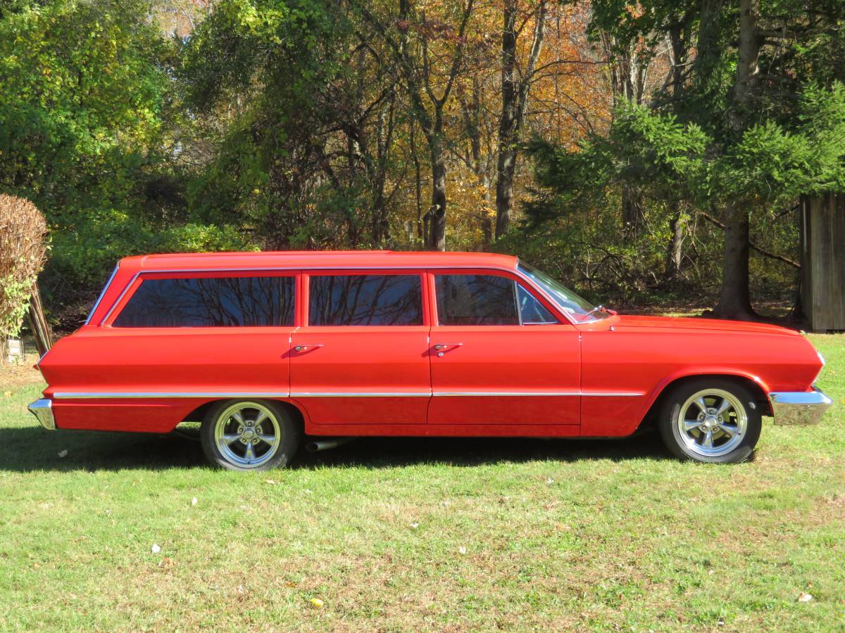 1963 Chevrolet Bel Air Station Wagon Street Machine  U2013  18 900