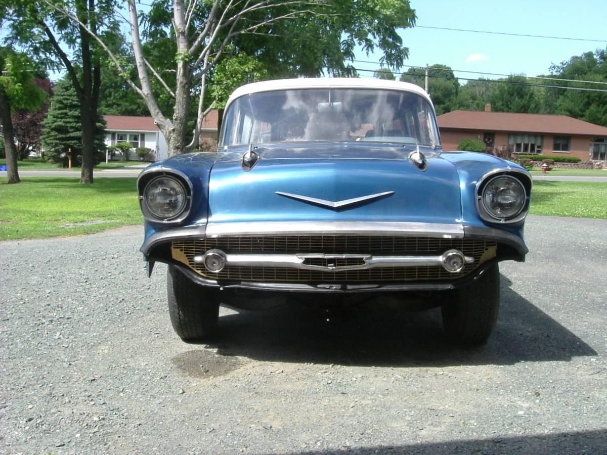 Hard Work Done: 1957 Chevrolet Station Wagon - $8,500 ...