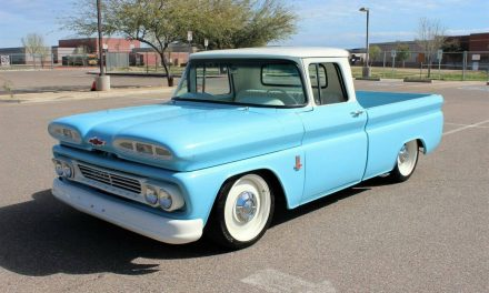 Baby Blue:  1960 Chevrolet C10 Short Bed Restomod – Sold!