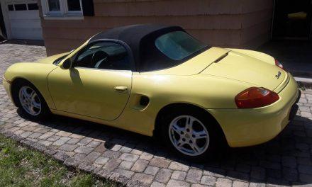Original Owner: 1999 Porsche Boxster – Sold!