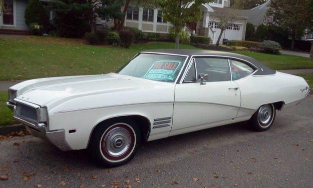 Recently Deceased:  1968 Buick Skylark Sport Coupe – $9,200