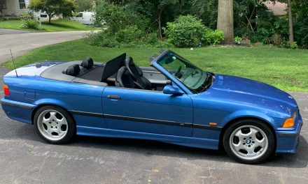 Thoroughly Refreshed: 1998 BMW E36 M3 Convertible – Sold!