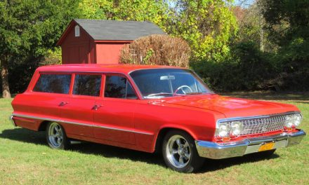 Project Funding:  1963 Chevrolet Bel Air Station Wagon Street Machine – $18,900