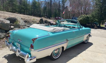 Heat Delete: 1954 Plymouth Belvedere Convertible – NOW $13,200