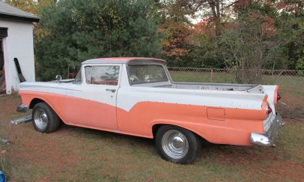 First Year Ute:  1957 Ford Ranchero – $12,500