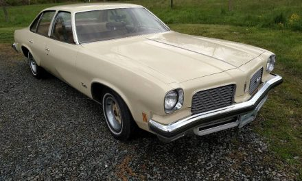Your Grandparents Olds: 1974 Oldsmobile Cutlass Colonade 4 Door Hard Top Sedan – Sold!