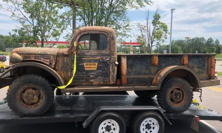 Trailer Not Included:  1949 Dodge Power Wagon Project – $9,750