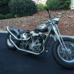 Space 19: 1952 Harley Davidson Pan Head Custom Bobber – NOW $18,500!
