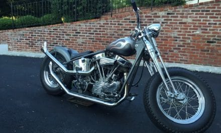 Space 19: 1952 Harley Davidson Pan Head Custom Bobber – Asking $22,500