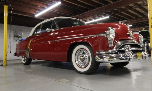 Space 21: 1951 Oldsmobile Super 88 De Luxe 88 Convertible Coupe – Asking $45,500