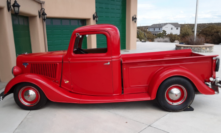 Space 13: 1936 Ford Hot Rod Pickup – SOLD!