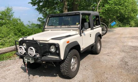 Raddest SUV? 1994 Defender 90 NAS – Sold!