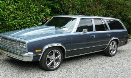 Lightning Rod:  1983 Chevrolet Malibu Wagon Street Machine – Sold!