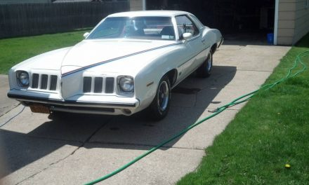 Happy Medium:  1973 Pontiac Grand Am – SOLD!