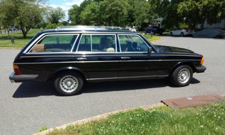 Unhappy Wife: 1984 Mercedes-Benz 300TD – SOLD!
