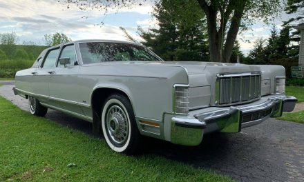 Like New Land Yacht:  1976 Lincoln Continental 35K Mile Survivor – SOLD!