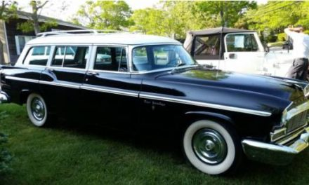 Really a Three:  1956 Chrysler New Yorker Station Wagon – Sold?