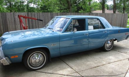 No Winters:  1974 Plymouth Valiant 44K Mile Survivor – SOLD!