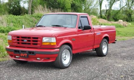 Clean Muscle Truck: 1993 Ford F-150 Lightning – SOLD!